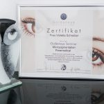 Zertifikat Frau Violetta Schreiber - Golden Eye Micropigmentation Paramedical