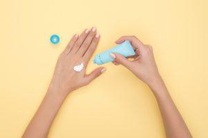 Anwendung einer Hautcreme